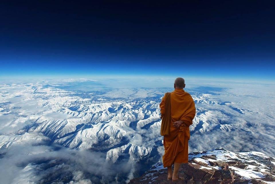 monk himalayas